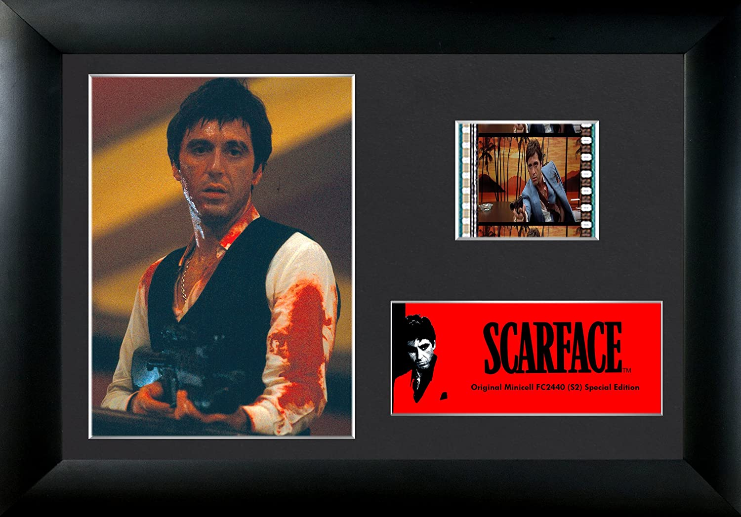 "Scarface limited edition canvas print 30/"" x 14/"""