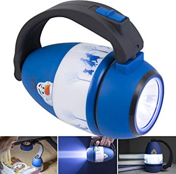 Night Light 3+y Kids LED Flash Light Torch New Frozen Torch LED Flash Light