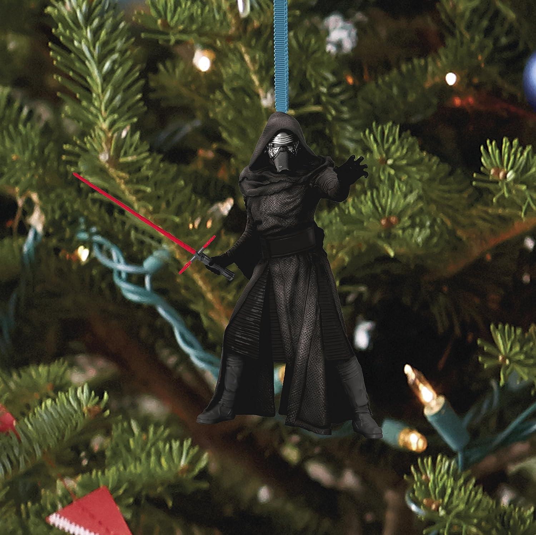 Amazon: Hallmark Star Wars The Force Awakens Kylo Ren With Lightsaber  Ornament 2015: Home & Kitchen