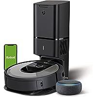 iRobot Roomba i7+ (i7556) - Robot Aspirador con Vaciado automático, aspiración de Alta Potencia y 2 cepillos + Echo Dot…