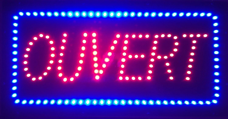 Panneau lumineux led ouvert for Panneau lumineux exterieur