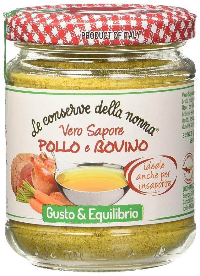 1 opinioni per Le Conserve della Nonna Insaporitore Granulare di Carne Mista Pollo e Bovino,