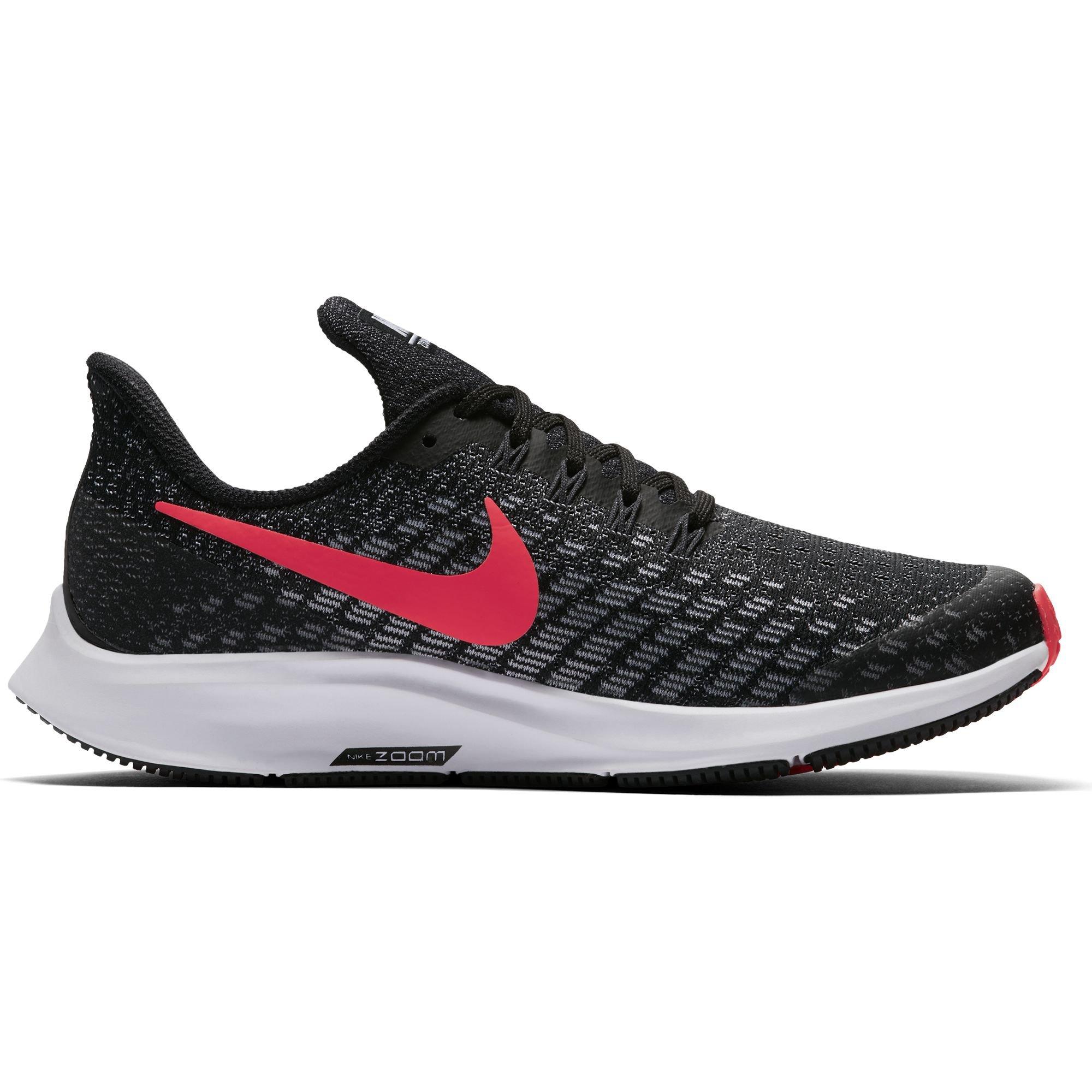 Nike Girl's Air Zoom Pegasus 35 Running Shoe Black/Racer Pink/White/Anthracite Size 2 M US