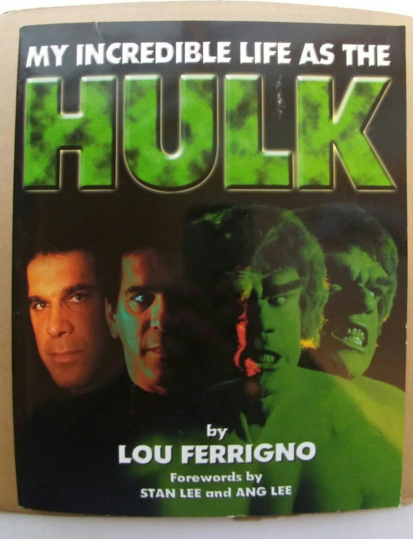 My Incredible Life As the Hulk: Lou Ferrigno: 9780964373907 ...