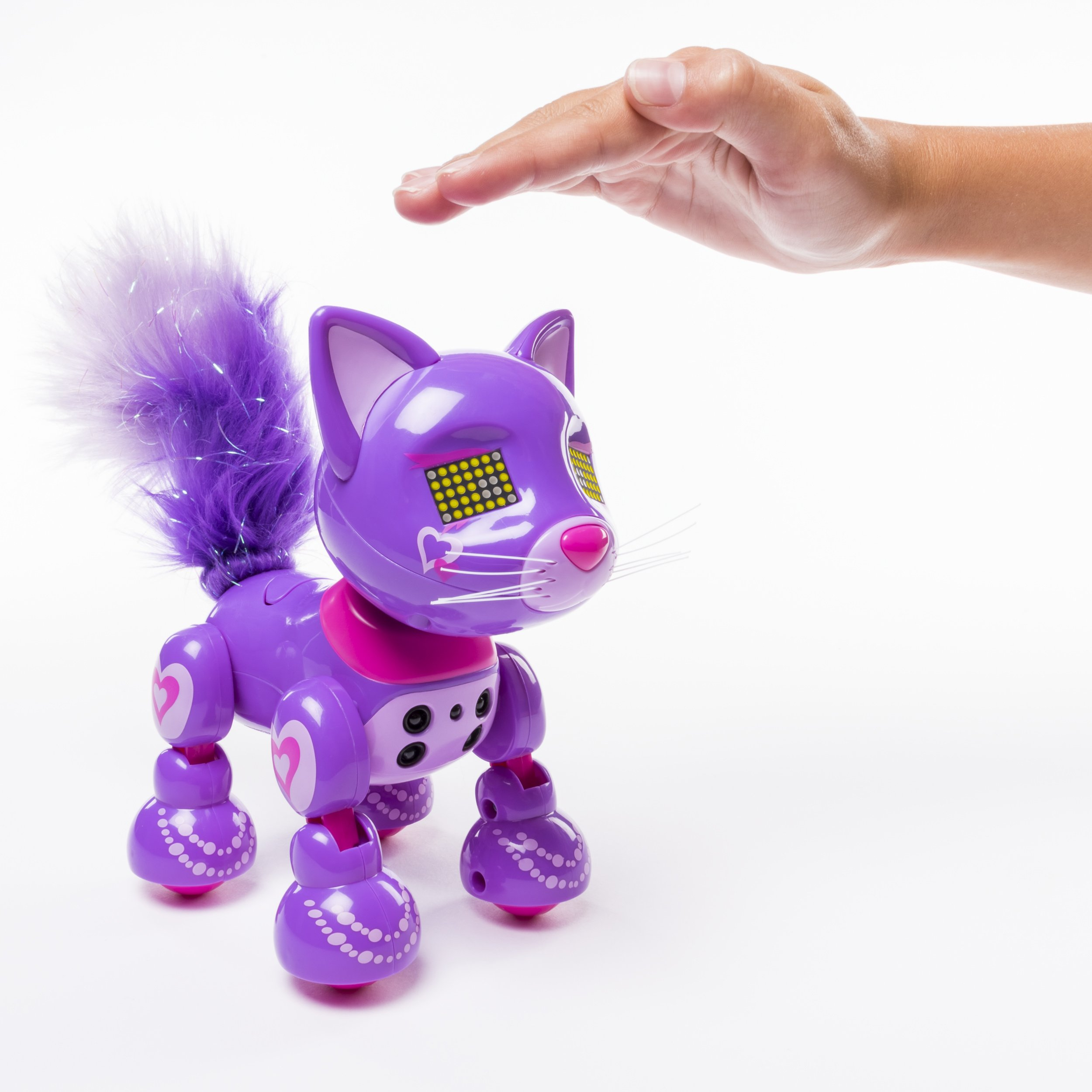 Zoomer Meowzies, Posh, Interactive Kitten with Lights, Sounds and Sensors by Zoomer (Image #7)