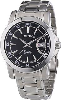 Seiko Mens SNQ141P1 Premier, Perpetual Calendar Watch