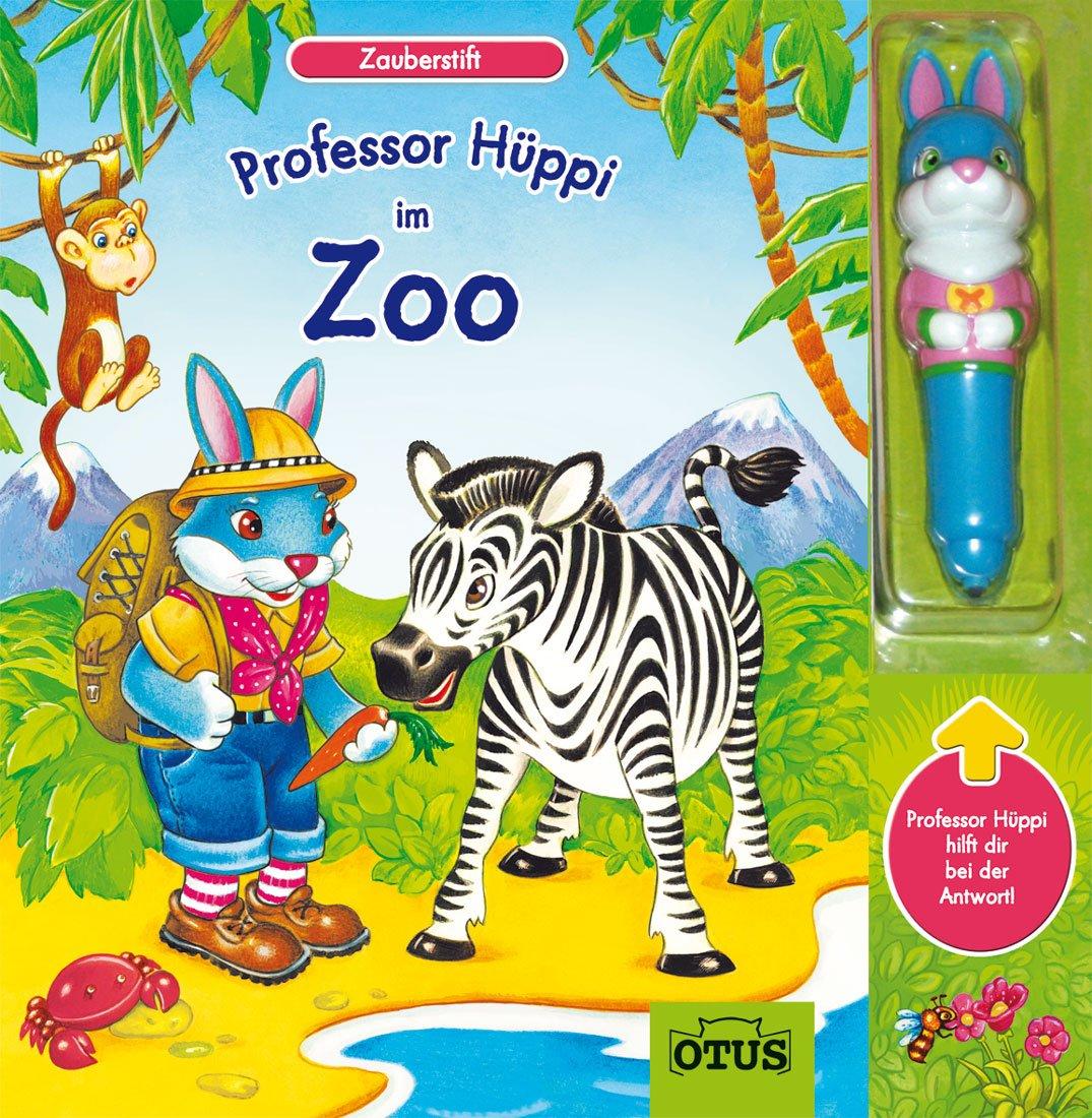 Prof. Hüppi im Zoo - mit Zauberstift