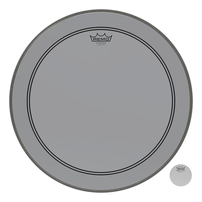 Remo Powerstroke P3 Colortone Smoke Bass Drumhead, 20