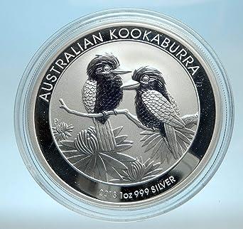 2013 Australian Kookaburra 1oz 999 Silver Dollar Coin
