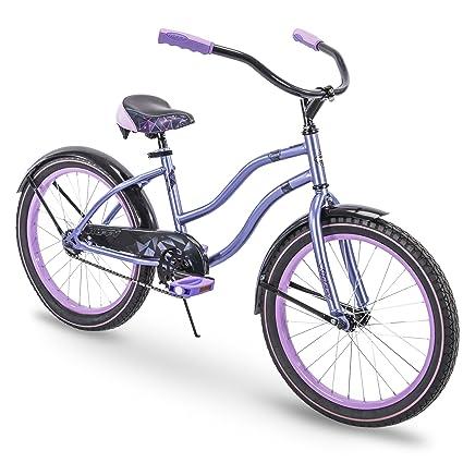 cf91babbb75 Amazon.com : Huffy Beach Cruiser Comfort Bikes 20, 24, 26 inch ...