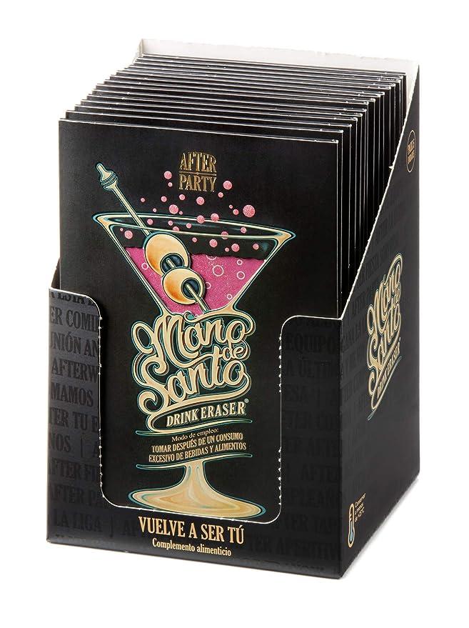 Drink Eraser Mano de Santo - Stop Resaca - Expositor con 15 dosis efervescentes: Amazon.es: Salud y cuidado personal