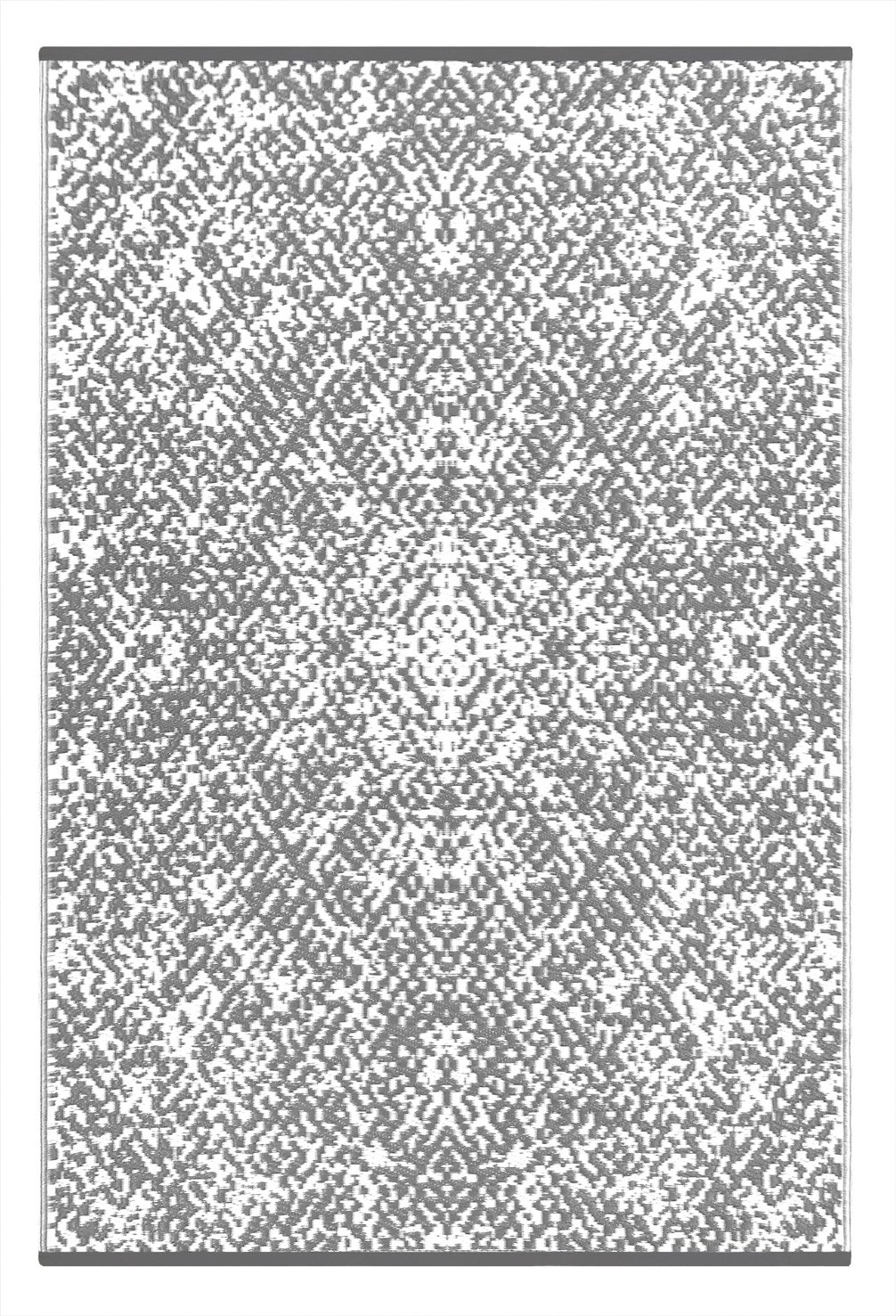 5x8, Prime Navy//Taupe Green Decore Lightweight Outdoor Reversible Plastic Rug