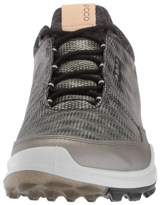 6b1039a47 Zapatillas de golf ECCO Biom Hybrid 3 Gore-Tex para hombre Plata negra    pulida