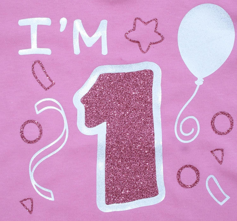 Edward Sinclair Baby Girls I 1-1St Birthday Gift T-Shirt