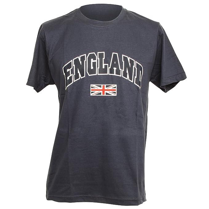 fecb2fe489 England Rugby - Camiseta - para Hombre Blanco Azul Marino Talla única   Amazon.es  Ropa y accesorios