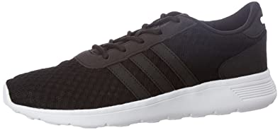 2df7ff62aff adidas neo Women s Lite Racer W Cblack and Ftwwht Sneakers - 6 UK India (
