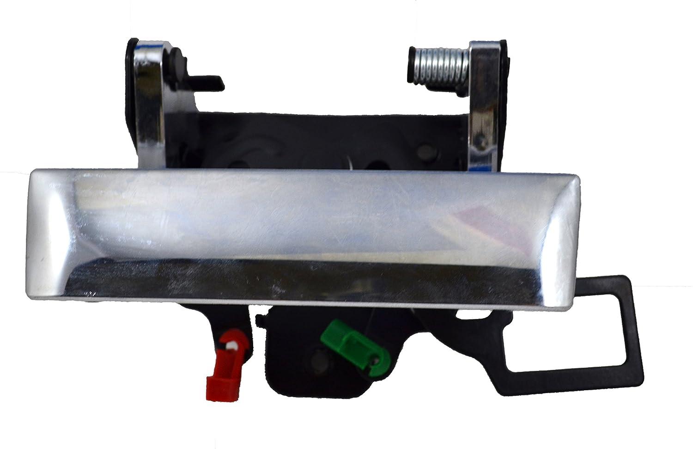 PT Auto Warehouse GM-3547M-TG Tailgate Handle with Keyhole Chrome
