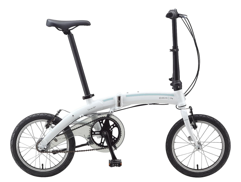 Dahon Curve I3 Mini Bicicleta Plegable, Unisex Adulto, Blanco Cloud, 16