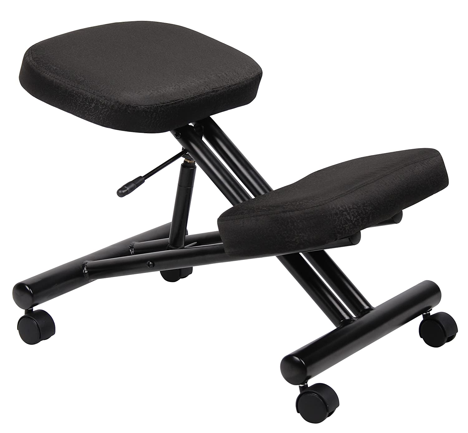 Boss Office Products B248 Ergonomic Kneeling Stool in Black