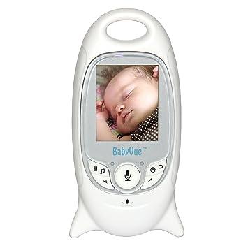 Amazon.com: babyvue Full Color Baby Monitor de vídeo con ...