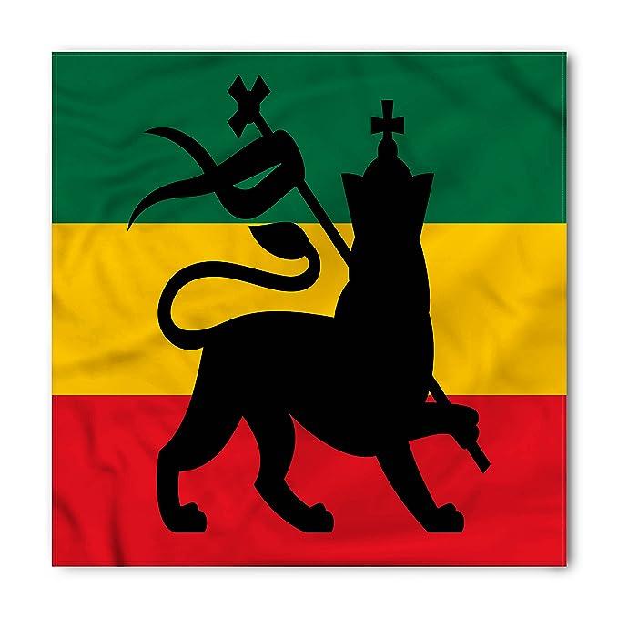 Amazon Rasta Bandana By Ambesonne Rastafarian Flag With Judah