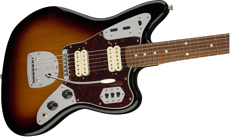 Amazon.com: Fender Classic Player Jaguar Special HH Electric Guitar - Pau Ferro Fingerboard - 3-Color Sunburst: Musical Instruments