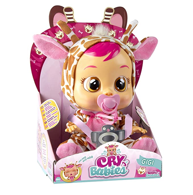 IMC Toys 90194 Gigi - Muñeca Bebés Llorones, Multicolor