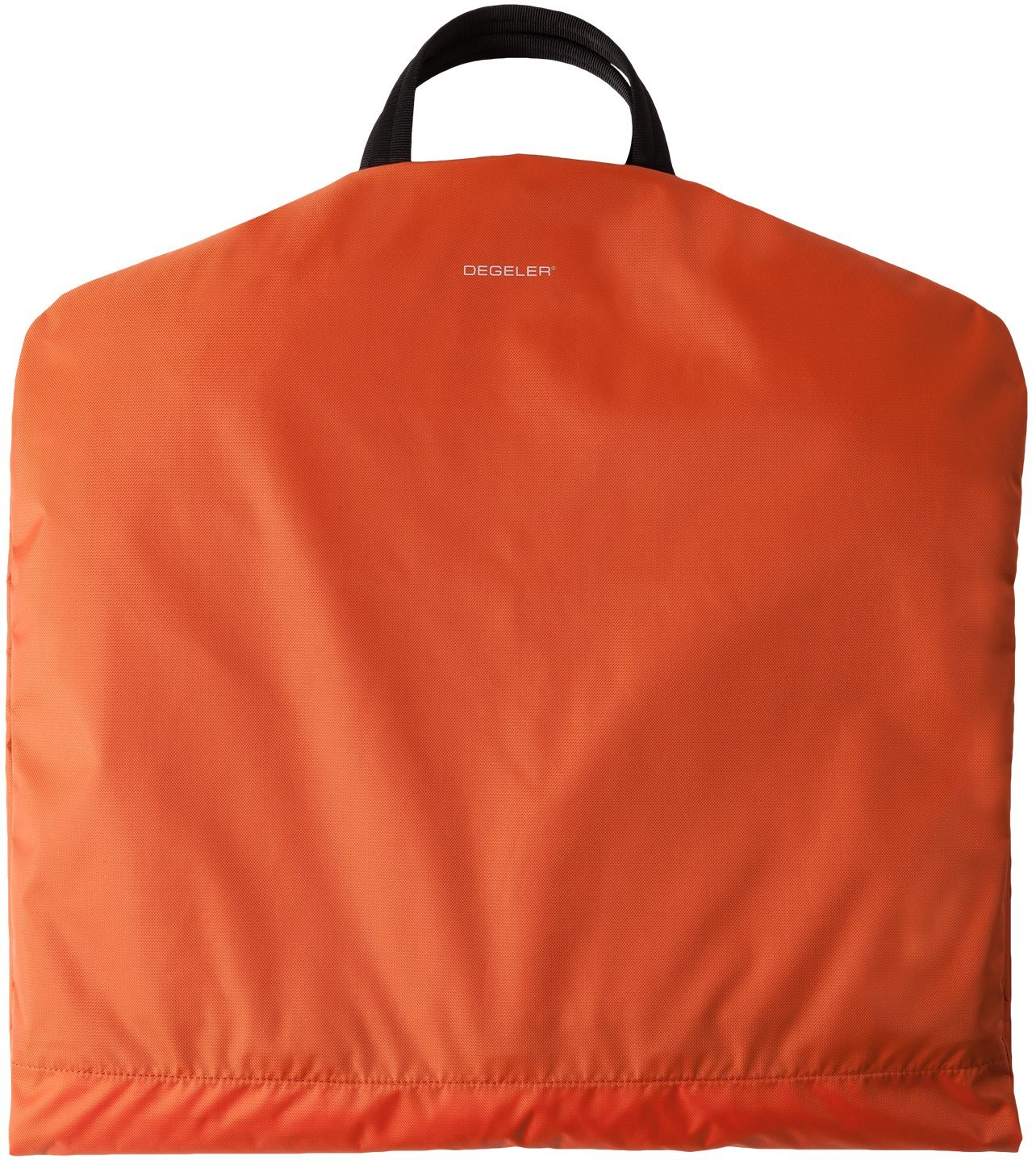 Travel Garment Bag with Titanium Hanger - Crafted from Ultralight, Water-Resistant High End Velocity Nylon Fabrics To Create An Effortless 6 Pocket Luggage Carrier (Orange) by DEGELER