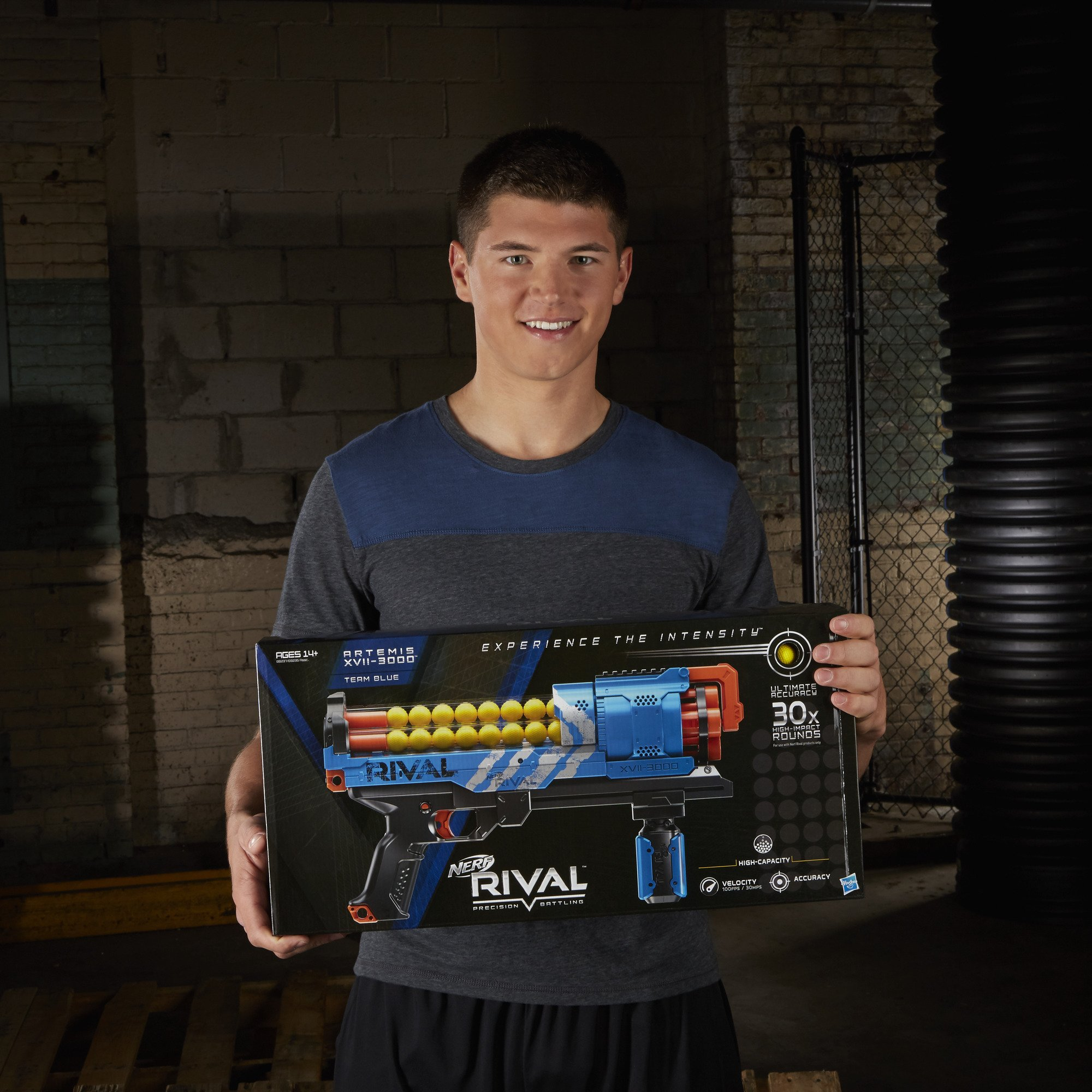 NERF Rival Artemis XVII-3000 Blue by NERF (Image #10)