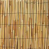 Arella canniccio BIG stuoia cannette rilegate ombra recinzione Bamboo 200x500cm
