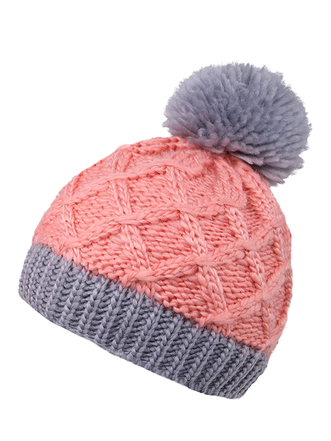 KEA KEA Kids Cable Knit Beanie Children's Winter Hat Boys/Girls Winter Cap Watermelon