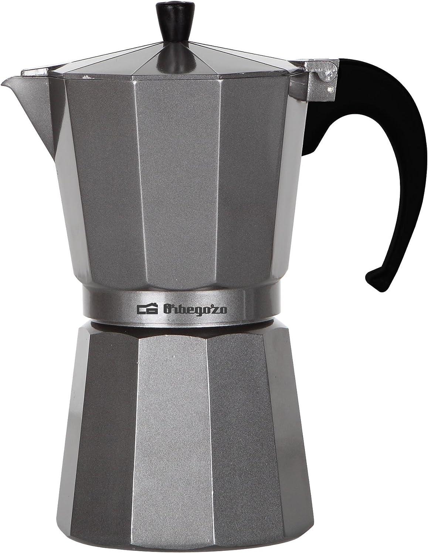 Orbegozo KFS620 KFS 620-Cafetera de Aluminio, 6 Tazas, Color, Plata: Amazon.es: Hogar