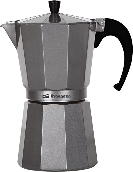 Orbegozo KFS920 Cafetera de aluminio, 9 Tazas, Plata: Amazon.es: Hogar