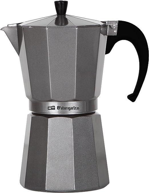Orbegozo KFS920 KFS 920-Cafetera de Aluminio, 9 Tazas, Color ...