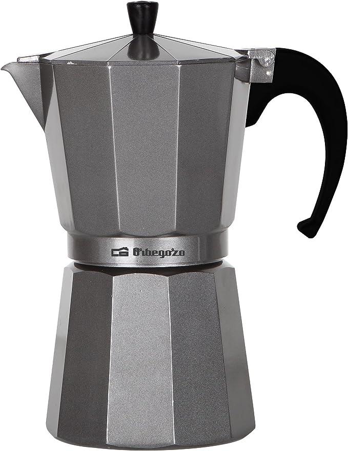 Orbegozo KFS320 KFS 320-Cafetera, 3 Tazas, Color, Aluminio, Plata: Amazon.es: Hogar