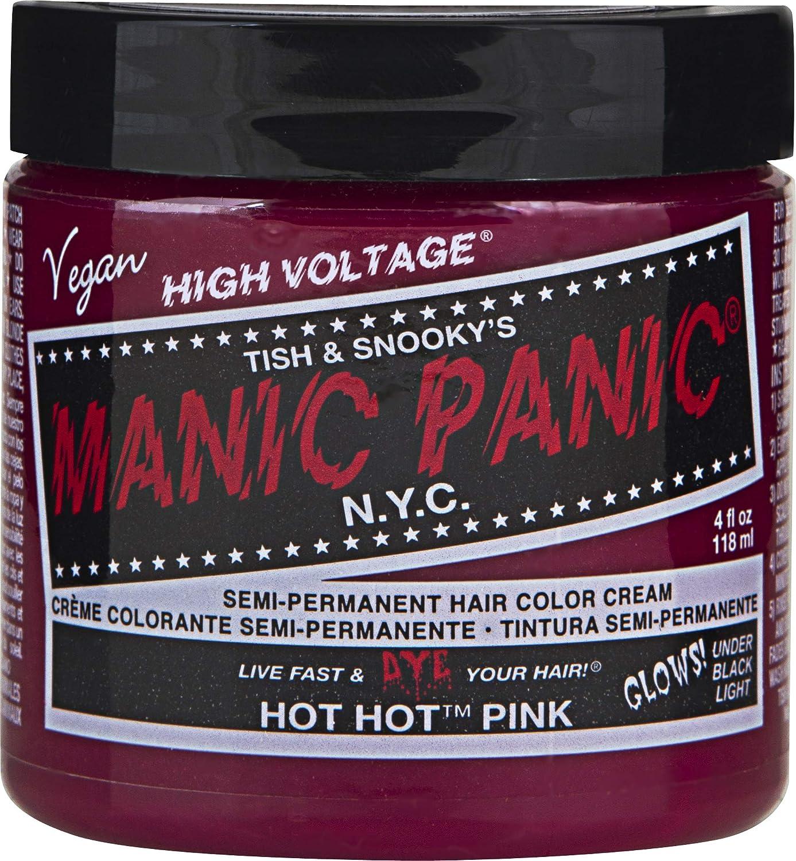 Manic Panic Hot Hot Pink Hair Dye Color - Vegan
