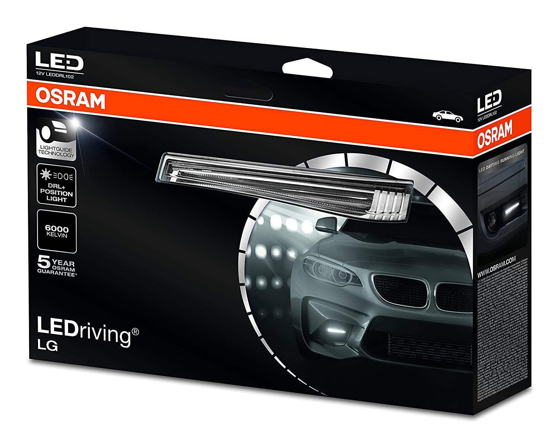 Osram LEDDRL102 LEDriving LG LED-Tagfahrlicht, Faltschachtel (1 Paar)