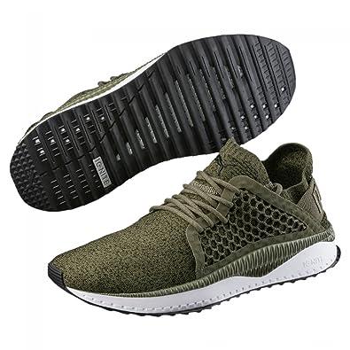 Puma Herren Sneakers Tsugi Netfit Evoknit Oliv (45) 41