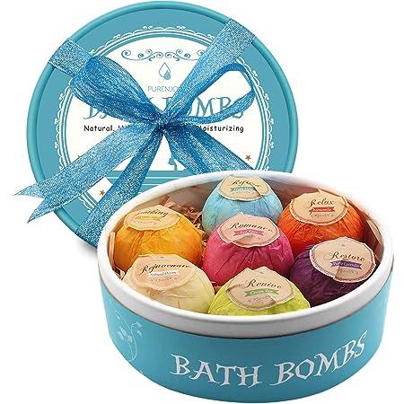 Review Aofmee Bath Bombs, 7pcs