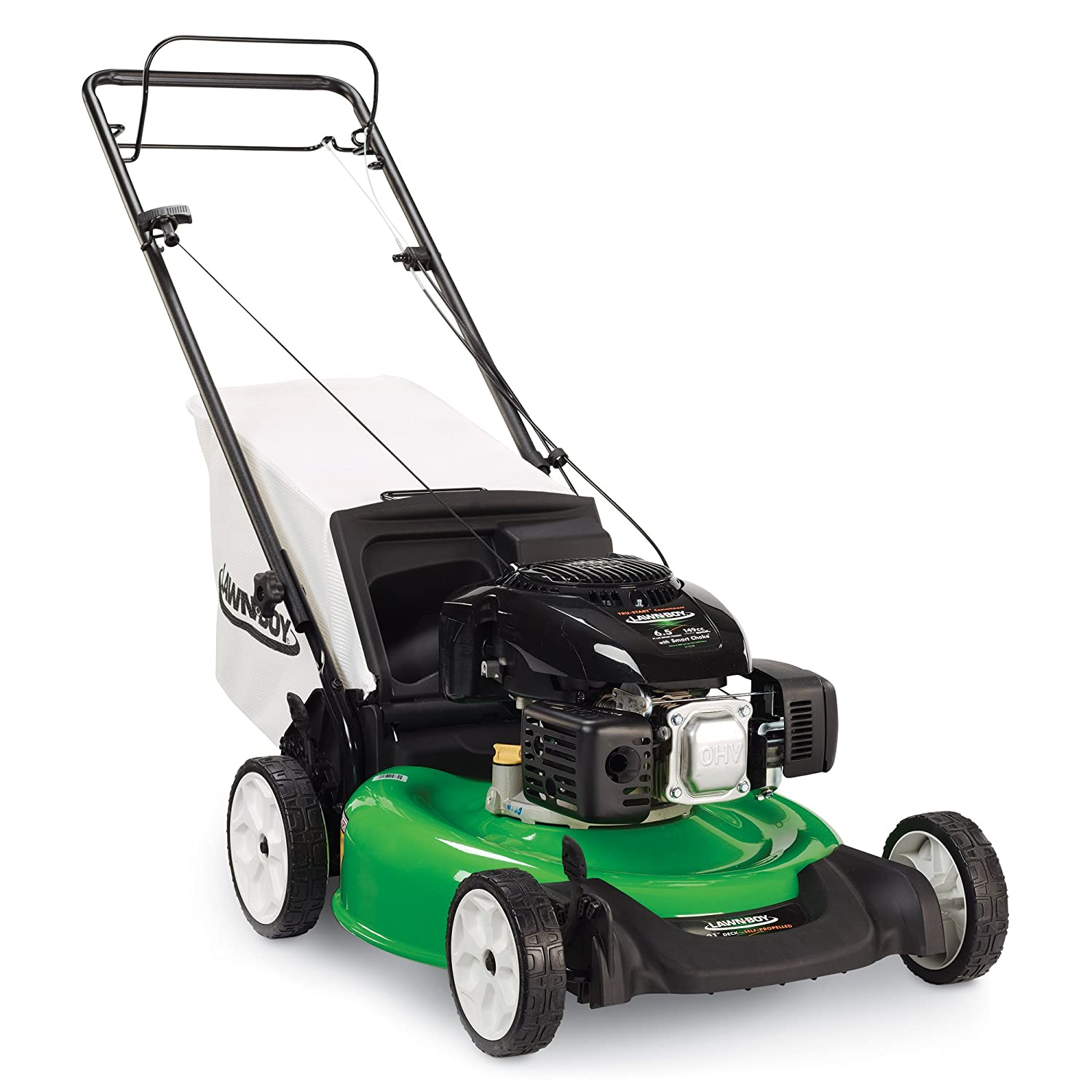 Lawn-Boy 10732 Kohler XT6 OHV, Rear Wheel Drive Self Propelled Gas Lawn Mower, 21-Inch