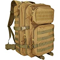 ProCase Militär Taktische Rucksack, Große Kapazität 3 Tage Armee Assault Pack Bug Out Bag Go Bag Rucksack für Wandern Jagd, Trekking und Camping und andere Outdoor Aktivitäten