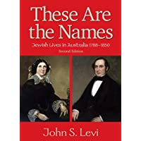 These Are The Namesjewish Lives In Australia, 1788-1850