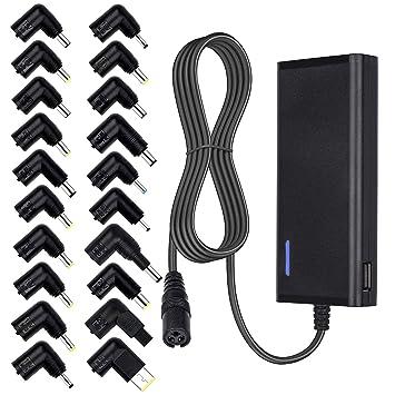 Amazon.com: UOKT 70W Universal Adapter 20 Plugs Laptop ...