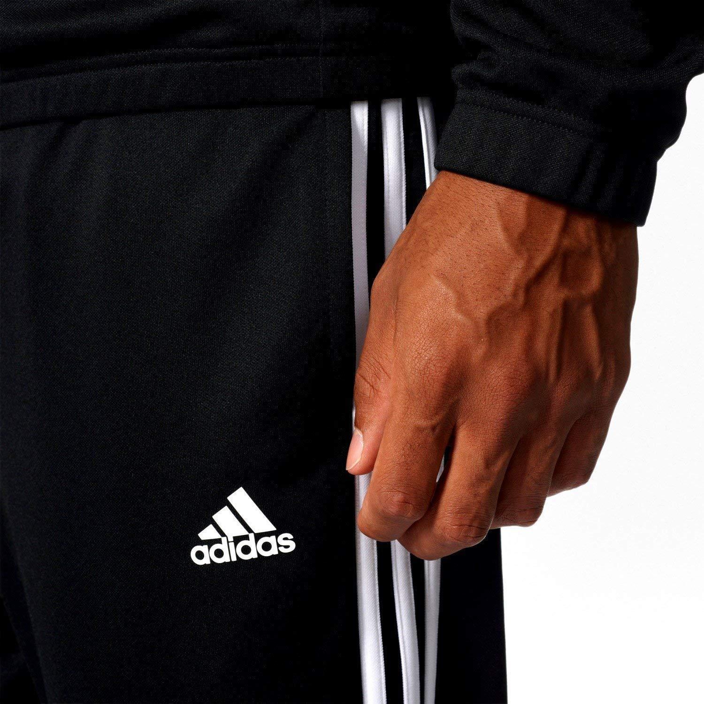 7cdbe8c5d207 adidas Men s Tiro Track Suit 3 Stripes Tracksuit Black//White