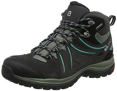 2e499523 Salomon Women's Ellipse 2 Mid Gore-Tex Hiking Boot, Phantom/Castor ...