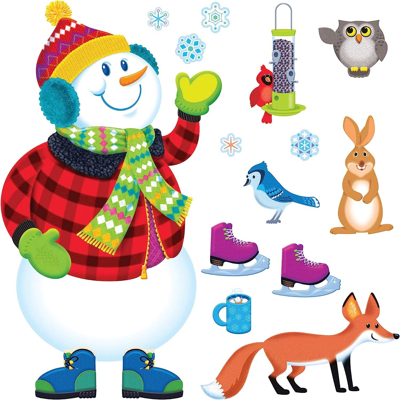 TREND enterprises, Inc. Super Snowman Bulletin Board Set