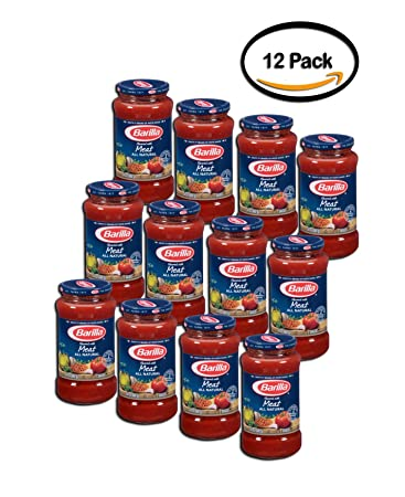 PACK OF 12 - Barilla Pasta Sauce Meat, 1.0 OZ