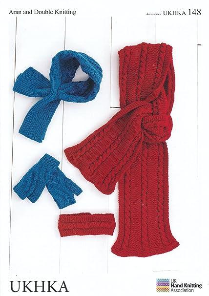 Amazon Double Knitting Dk Aran Knitting Pattern For Mittens