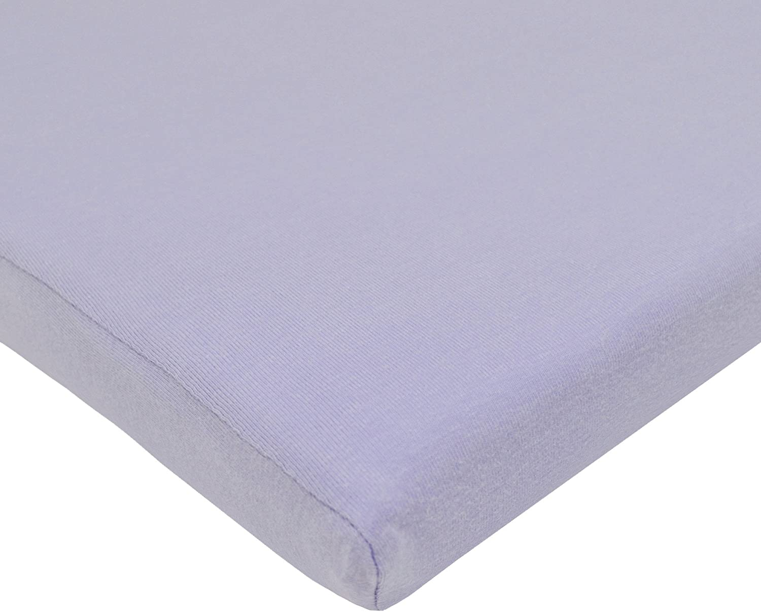 American Baby Company 100/% Natural Cotton Supreme Jersey Knit Fitted Cradle Sheet Lavender for Girls Soft Breathable