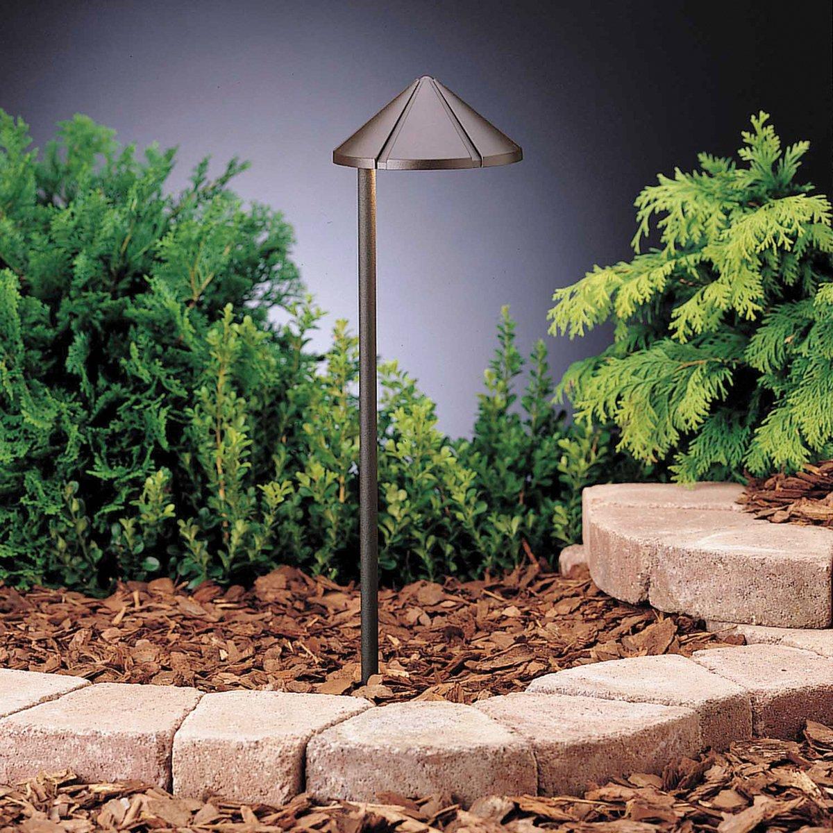 Kichler 15315azt one light path spread landscape path lights kichler 15315azt one light path spread landscape path lights amazon mozeypictures Gallery